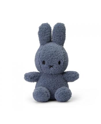 Plyšový zajačik - modrá - terry - Miffy - EKO kolekcia - 23 cm