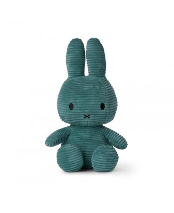 Plyšový zajačik modrozelený menčester - Miffy (33 cm)