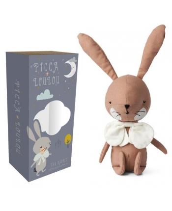 Plyšový zajačik staroružový v škatuľke - Picca Loulou (18 cm)