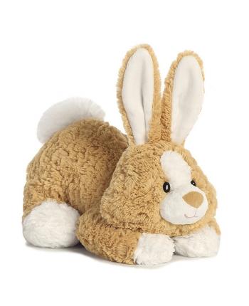 Plyšový zajačik ležiaci - Tushies (28 cm)