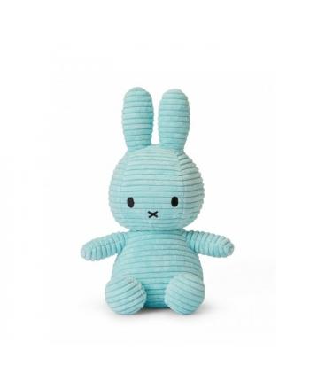 Plyšový zajačik tyrkysový menčester - Miffy - 23 cm