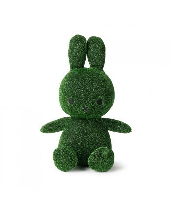 Plyšový zajačik - zelené trblietky - Miffy - 23 cm