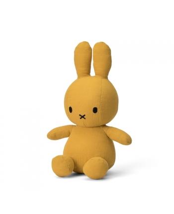 Plyšový zajačik žltý - mušelín - Miffy  - 23 cm