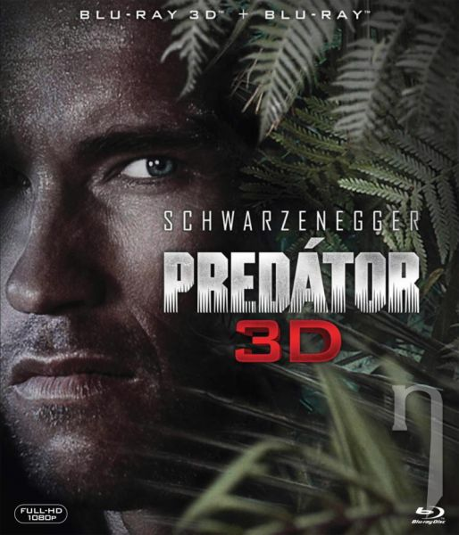 BLU-RAY Film - Predator 2D/3D (2 Bluray)