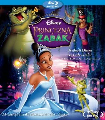 BLU-RAY Film - Princezna a žabák