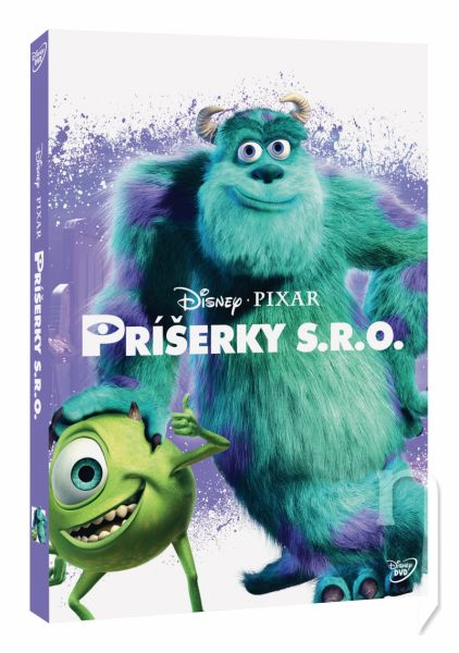 DVD Film - Příšerky s.r.o. - Disney