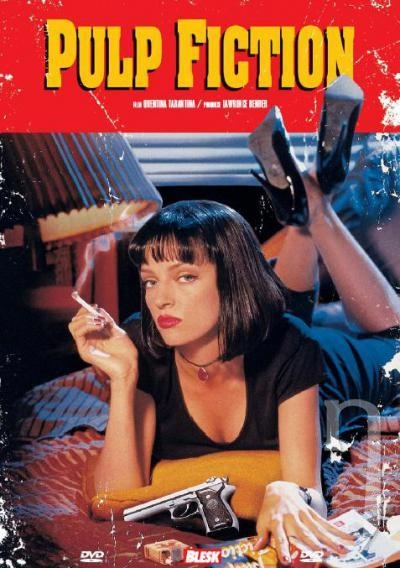 DVD Film - Pulp Fiction (papierový obal)