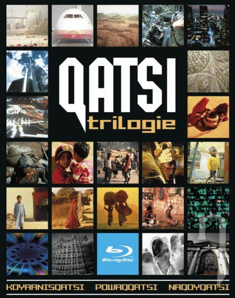 BLU-RAY Film - QATSI trilogie (3 Bluray)