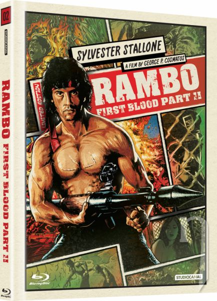 BLU-RAY Film - Rambo 2 (digibook)