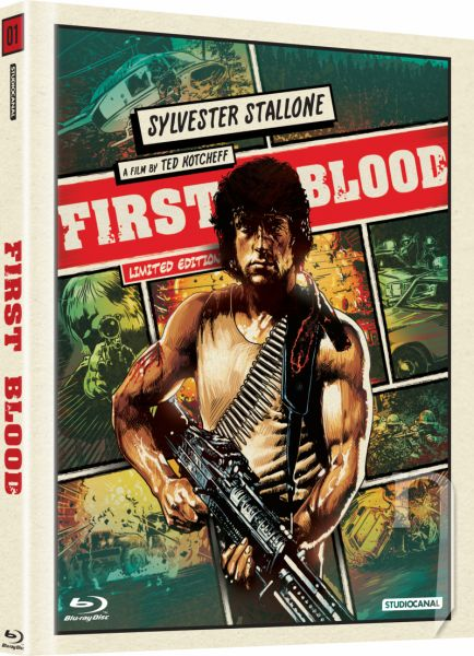 BLU-RAY Film - Rambo (digibook)