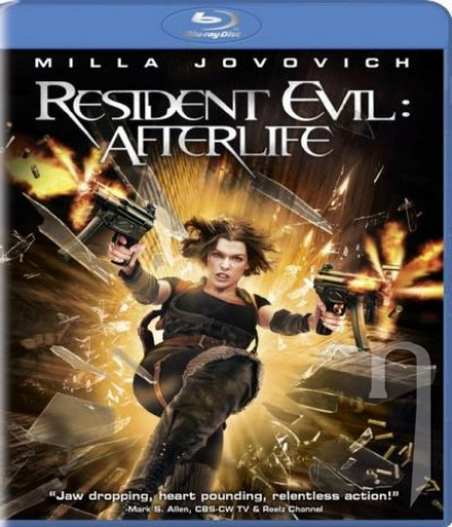 BLU-RAY Film - Resident Evil: Afterlife 3D (Bluray)