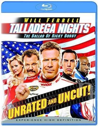 BLU-RAY Film - Ricky Bobby: Najrýchlejší jazdec (Blu-ray)