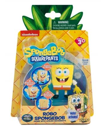 Robo SpongeBob na baterky - pláva vo vode