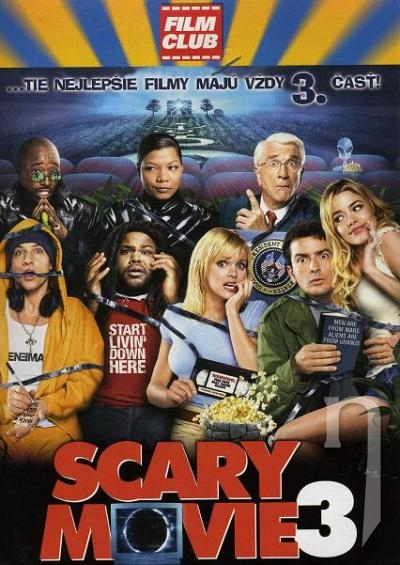 DVD Film - Scary movie 3 (papierový obal)