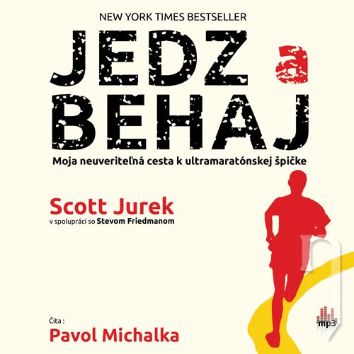 CD - SCOTT JUREK / ČÍTA PAVOL MICHALKA JEDZ A BEHAJ (MP3-CD)