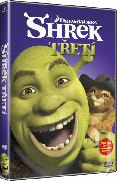 DVD Film - Shrek Tretí - BIG FACE