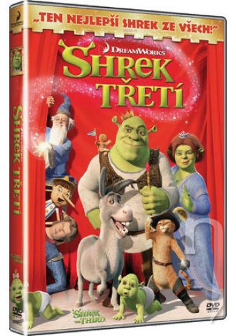 DVD Film - Shrek Tretí
