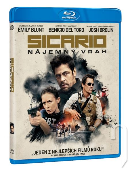 BLU-RAY Film - Sicario