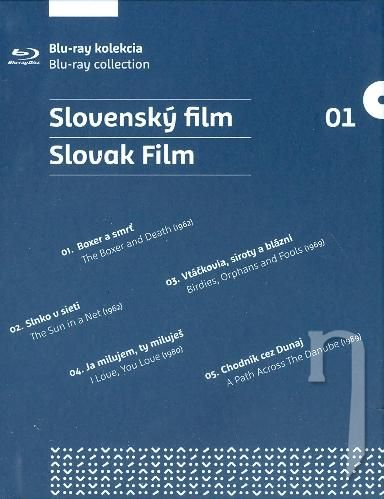 BLU-RAY Film - Slovenský film 1 (5 Bluray)