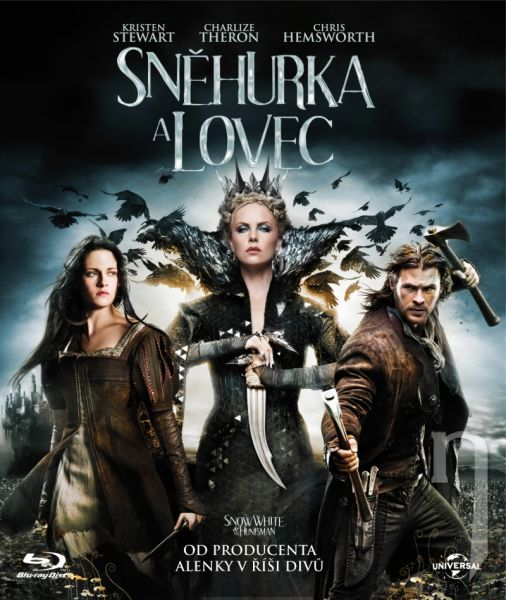 BLU-RAY Film - Snehulienka a lovec