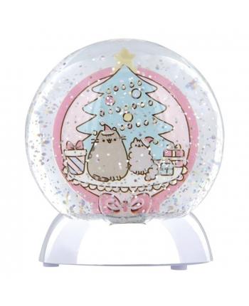 Sněžná koule se světlem - Pusheen (11 cm)