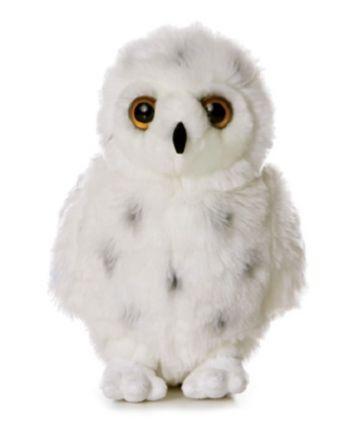 Plyšová sova snežná - Flopsie (30,5 cm)