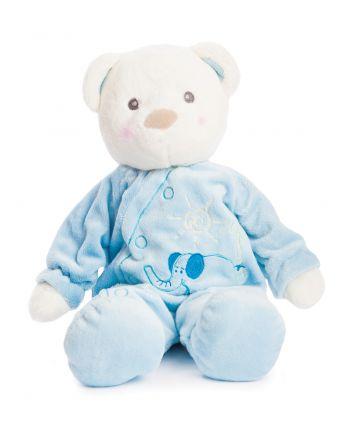 Plyšový macko v pyžame modrý - Snuggles (24 cm)