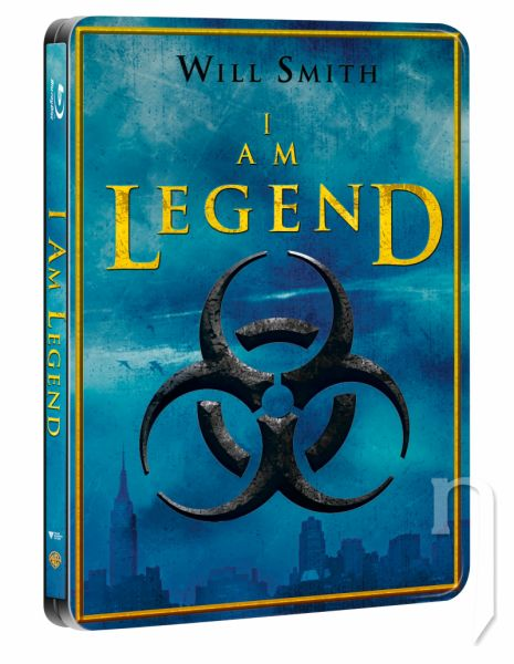 BLU-RAY Film - Som legenda - Steelbook