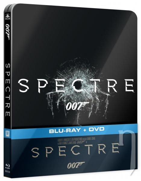 BLU-RAY Film - Spectre - Steelbook