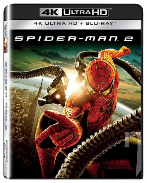 BLU-RAY Film - Spider-Man 2 (UHD+BD)