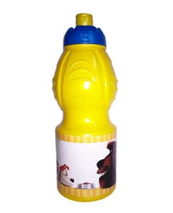 Športová plastová fľaša - Tajný život maznáčikov - 400 ml.