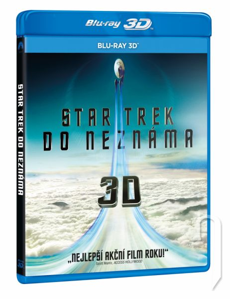 BLU-RAY Film - Star Trek: Do neznáma 3D