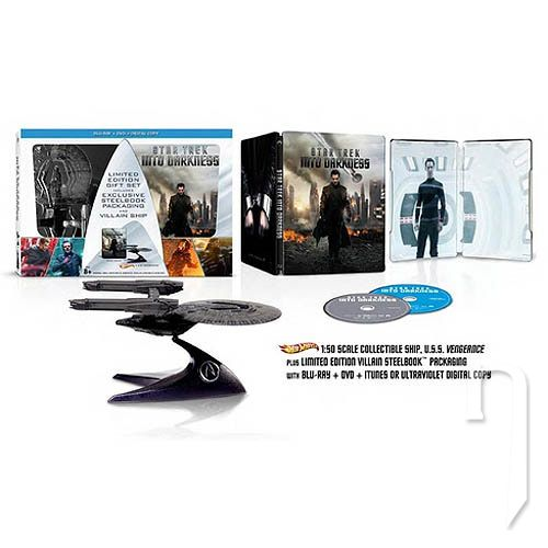 BLU-RAY Film - Star Trek: Do temnoty 3D/2D - (Vesmírna loď)