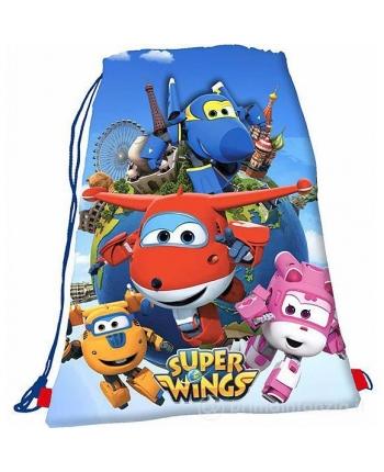 Super Wings - vak na chrbát - 31x39 cm