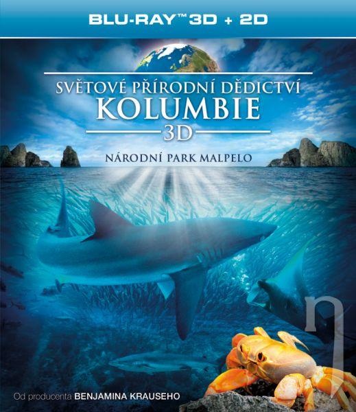 BLU-RAY Film - Světové přírodní dědictví: Kolumbie - Národní park Malpelo BD (3D)