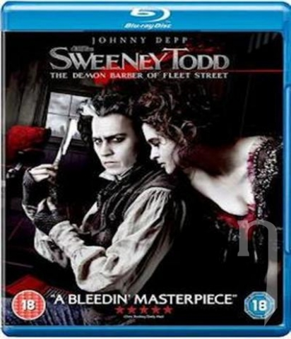 BLU-RAY Film - Sweeney Todd: Čertovský holič z Fleet Street (Blu-ray)