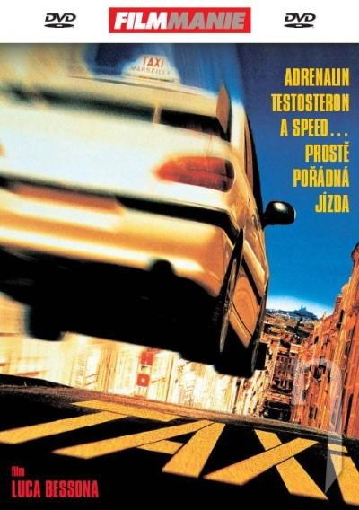 DVD Film - Taxi 1 (papierový obal)