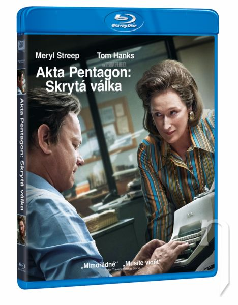 BLU-RAY Film - The Post: Aféra v Pentagone