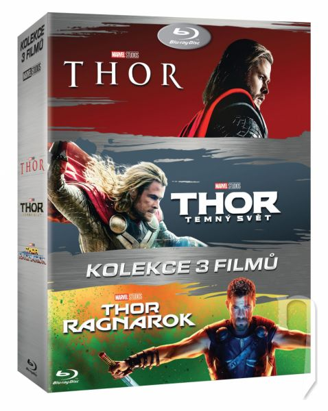 BLU-RAY Film - Thor kolekcia 1-3 (3 Bluray)