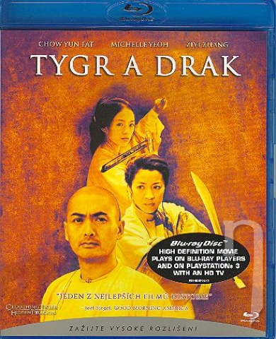 BLU-RAY Film - Tiger a drak (Blu-ray)