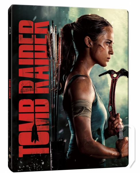 BLU-RAY Film - Tomb Raider - Steelbook