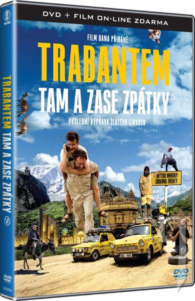 DVD Film - Trabantem tam a zase zpátky