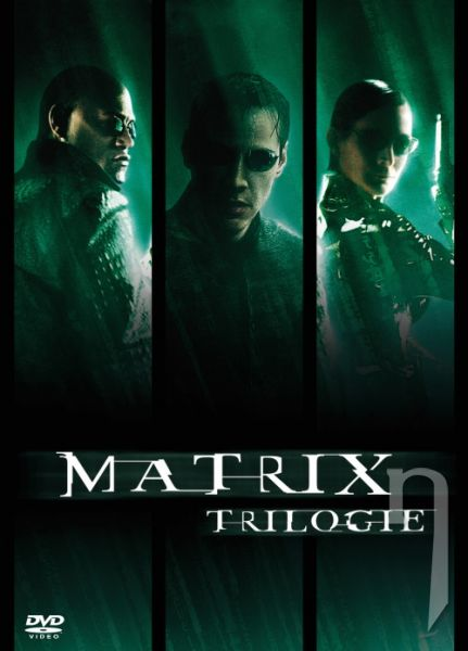 DVD Film - Trilógia Matrix 3 DVD