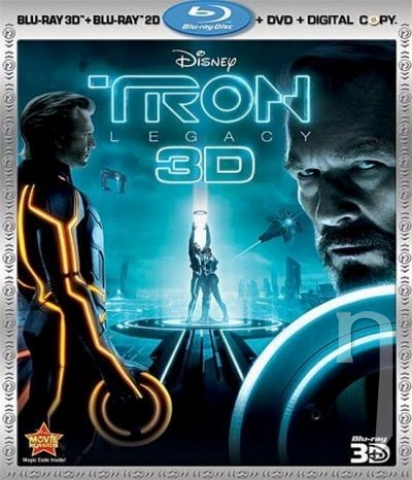 BLU-RAY Film - Tron: Dedičstvo (3D - 2D Bluray)