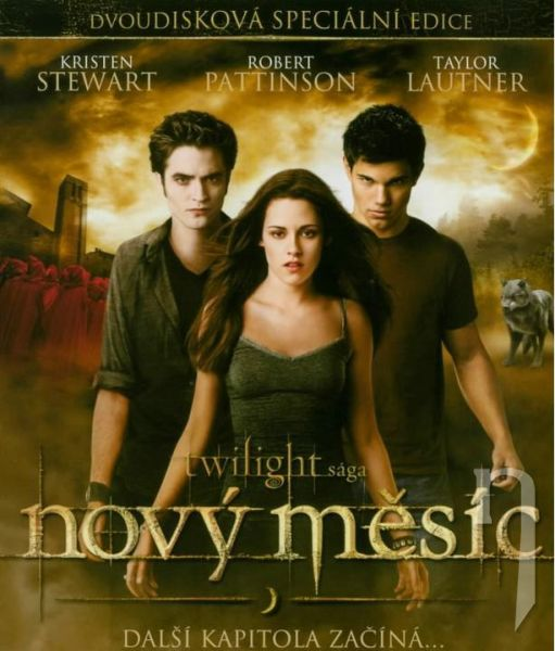 BLU-RAY Film - Twilight Sága: Nov (2 blu-ray)