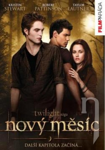 DVD Film - Twilight Sága: Nov (digipack)