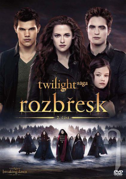 DVD Film - Twilight sága: Úsvit - 2. čast