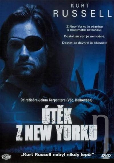 DVD Film - Útěk z New Yorku