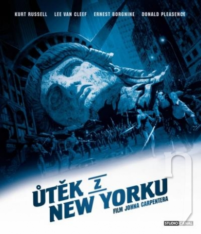 BLU-RAY Film - Útěk z New Yorku (Bluray)