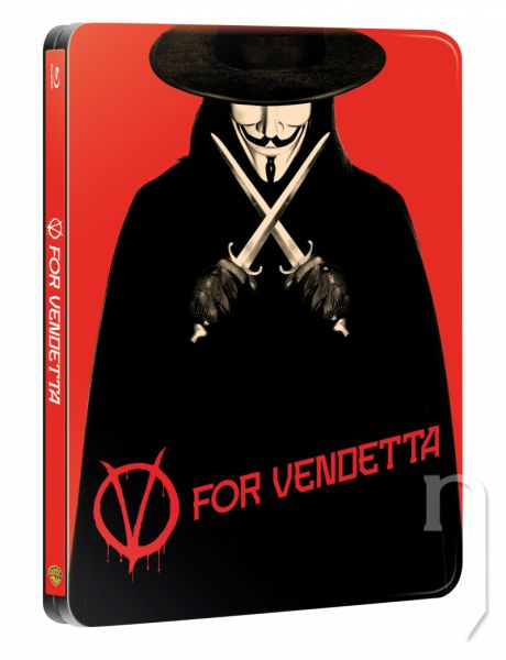 BLU-RAY Film - V jako Vendeta  - steelbook